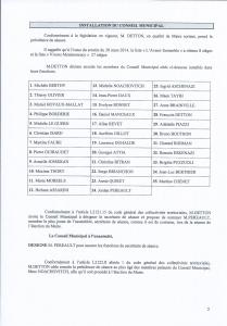 Conseil Municipale Avril 2014-1