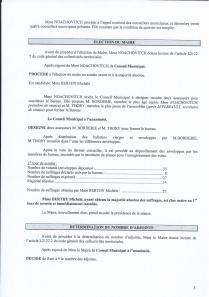 Conseil Municipale Avril 2014-2
