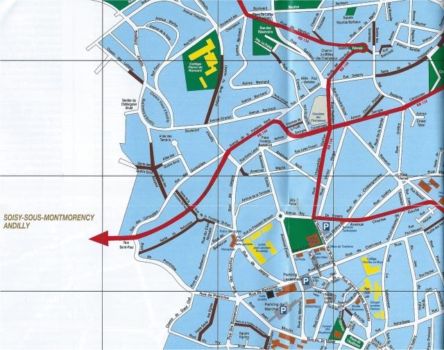 Le plan de circulation