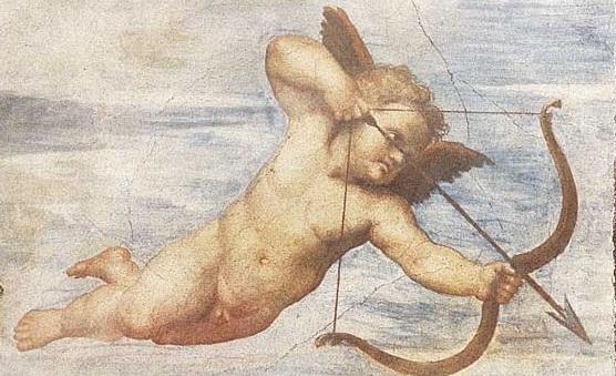 peinture-cupidon-fleche