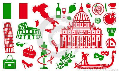 symboles-traditionnels-de-l-italie-28400477
