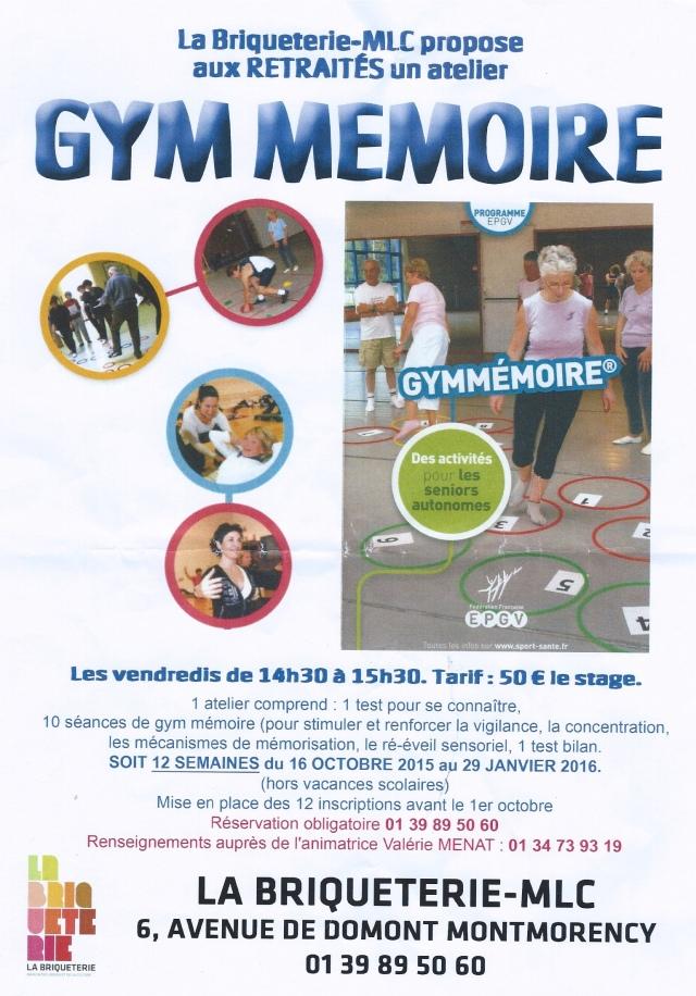 Gym mémoire