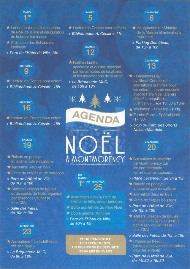 Agenda Noel 2015
