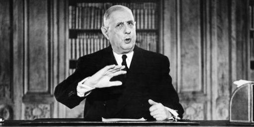 Le-g-n-ral-Gaulle-t-l-vision-31-d-cembre-1962