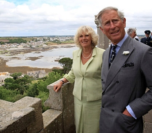 Royal visit to Cornwall