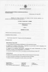 Agenda CM 27 03 2017